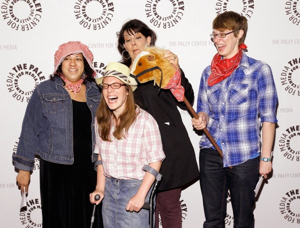 Christine Pedi (center) with Brandy Levine, Leslie Gold and Maria Campigotto
