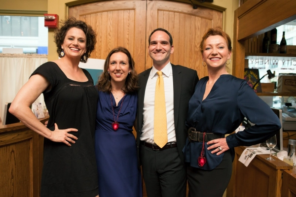Cady Huffman, Page 73 Executive Directors Liz Jones and Asher Richelli and Julie White