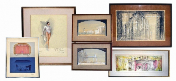 Photo Flash: Roland Auctions of NYC to Sell Estate of Arthur Laurents, 6/2