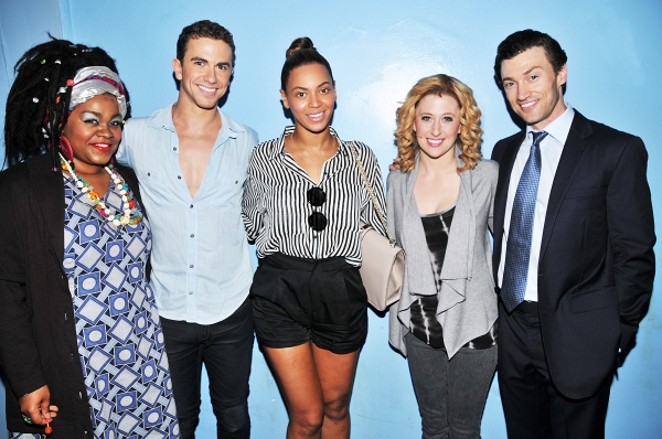 Photo Flash: Beyonce Visits Broadway's GHOST!