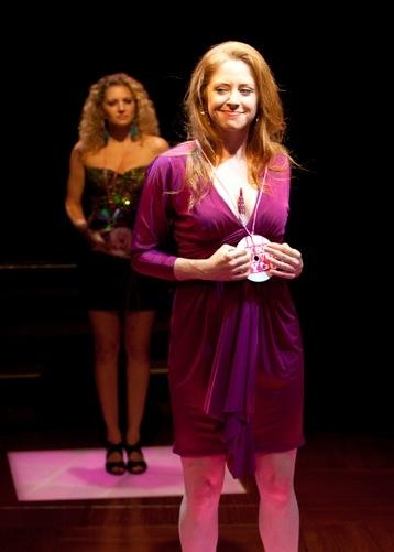 Lauren Molina as Megan and Kate Morgan Chadwick as Samantha