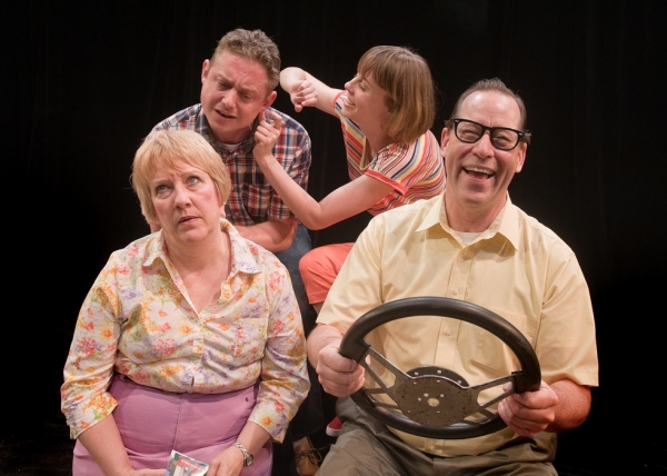 Photo Flash: Promo Shots from Taproot Theatre's LEAVING IOWA, Opening Tonight, 5/18