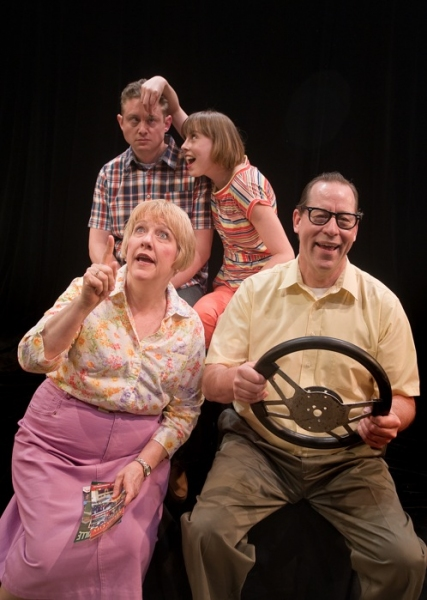 Photo Flash: Promo Shots from Taproot Theatre's LEAVING IOWA