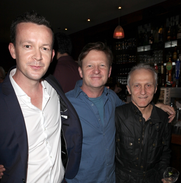Enda Walsh, Andy Taylor & David Patrick Kelly  at Inside the 2012 Drama Critics Circle Awards Ceremony!