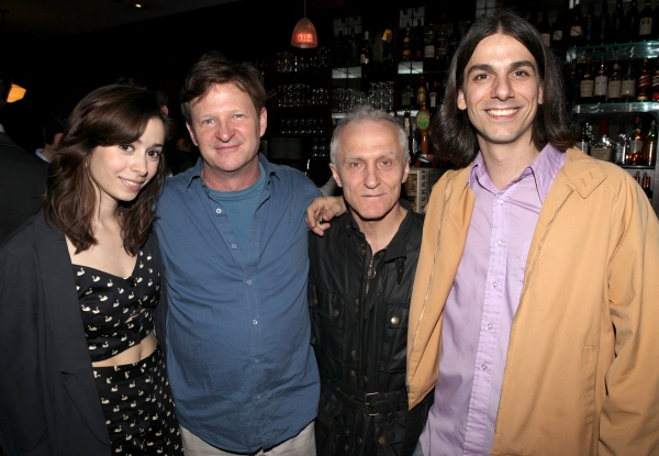 The Cast of 'ONCE' : Cristin Milioti, Andy Taylor, David Patrick Kelly & Lucas Papaelias  at Inside the 2012 Drama Critics Circle Awards Ceremony!