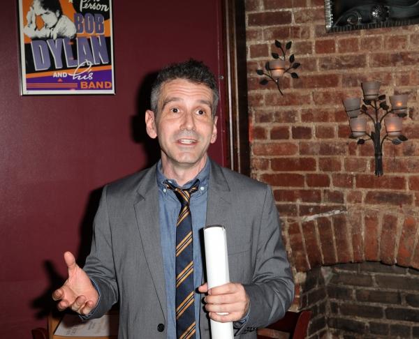 David Cromer  at Inside the 2012 Drama Critics Circle Awards Ceremony!
