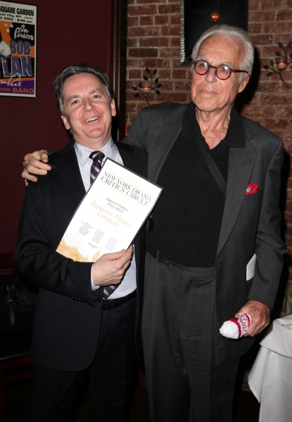 James Houghton & John Guare at Inside the 2012 Drama Critics Circle Awards Ceremony!