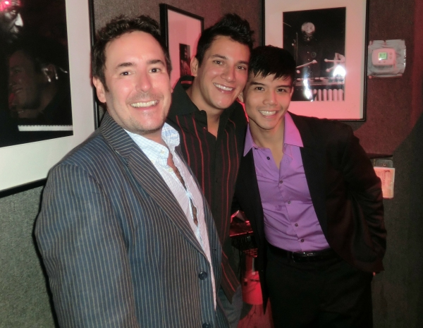 Matt Lenz, Nicholas Rodriguez at Telly Leung Brings PLAYLIST to Birdland!