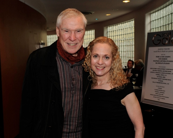 Jacques D'Amboise with Vicki Reiss, Executive Director of the Shubert Foundation