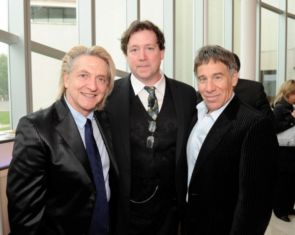 Chet Walker , Ray Cullom (Exec Director, Queens Theatre) , Stephen Schwartz