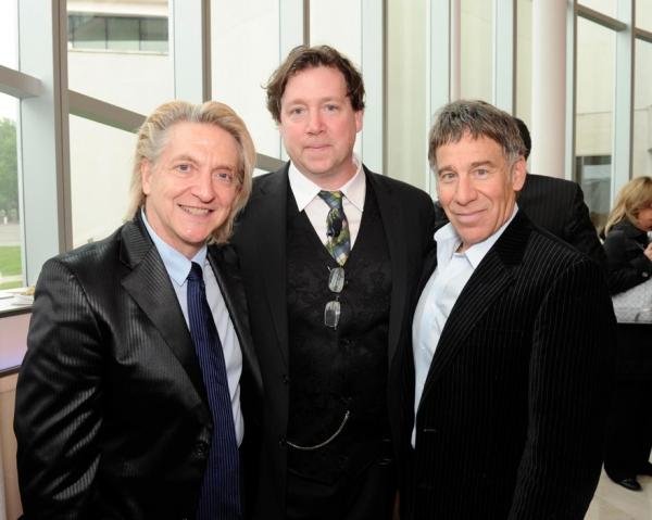 Chet Walker , Ray Cullom (Exec Director, Queens Theatre) , Stephen Schwartz