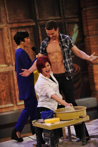 Julie Chen, Richard Fleeshman, Sharon Osbourne