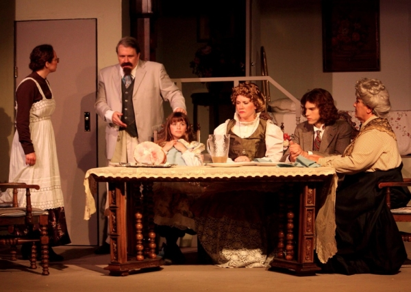Faith Streng, Scott Martin, Francesca Farina, Elizabeth Bouton, Ben Birmingham, and Vada Foster