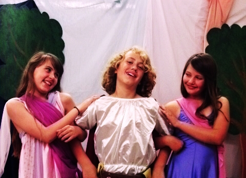 Kentwood Kids' GREECE THE MUSICAL Set for June 2-16