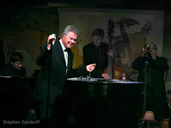 Quinn Johnson, Steve Tyrell, David Finck, Lew Soloff at Steve Tyrell Brings 'Romance' to the Cafe Carlyle