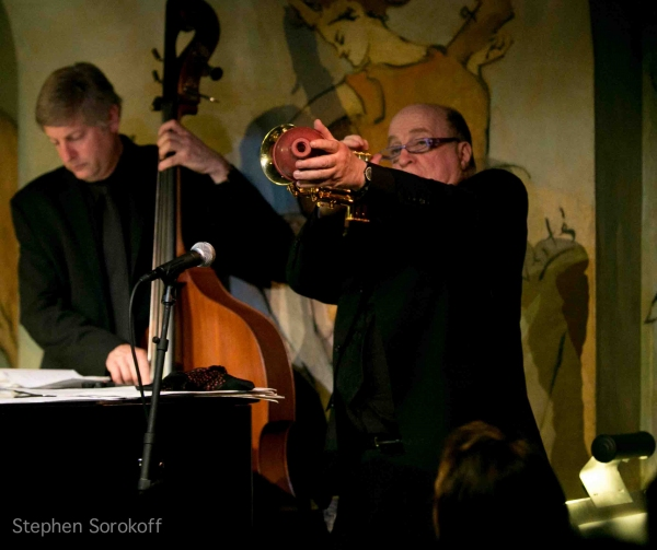 David Finck & Lew Soloff at Steve Tyrell Brings 'Romance' to the Cafe Carlyle