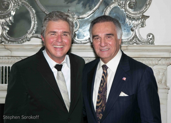 Steve Tyrell & Tony LoBianco at Steve Tyrell Brings 'Romance' to the Cafe Carlyle