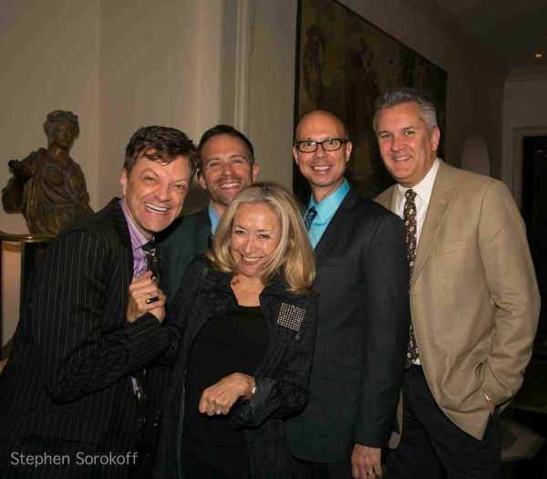 Jim Caruso, Tony Maietta, Eda Sorokoff, Richie Ridge, Richard Hillman at Steve Tyrell Brings 'Romance' to the Cafe Carlyle