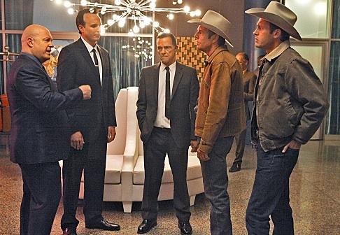 Michael Chiklis, Dennis Quaid, Jason O'Mara, Kai Lennox & James Russo - VEGAS at First Look at New CBS Series
