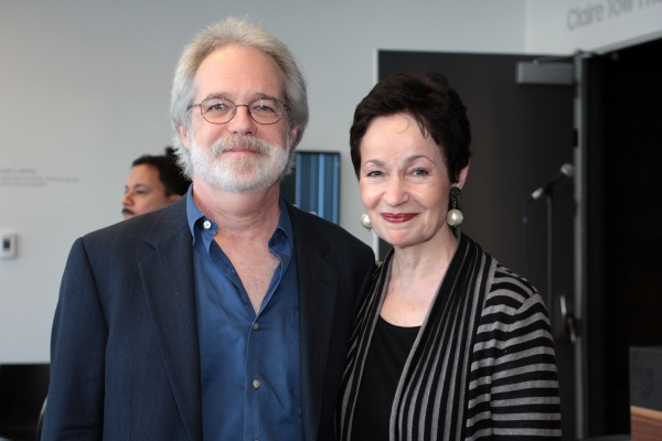 John Wideman, Lynn Ahrens at LCT Unveils the New Claire Tow Theatre