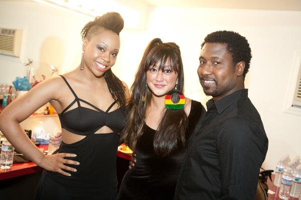 Tami Kasonya Lawrence, Katie Kiyan and Brandon Pearson Photo