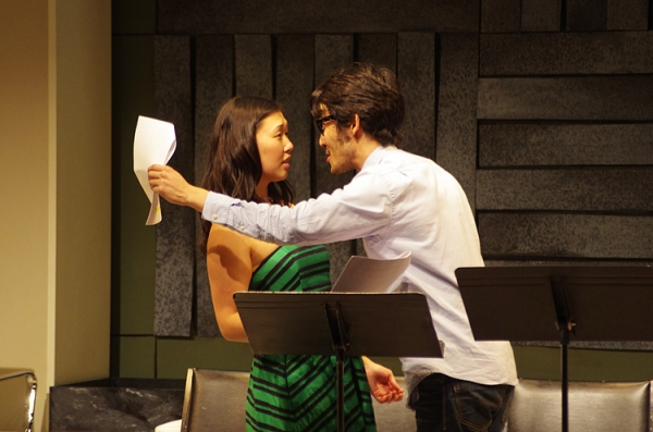 Photo Flash: Asian And...'s RIGHT HERE WRITE NOW at Cherry Lane Theater - Eugene Oh, Diane Phelan, Matt Park & More