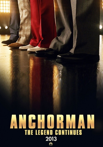 Photo Flash: First Poster for Will Ferrell's ANCHORMAN II