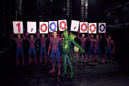 Photo Flash: SPIDER-MAN Welcomes 1,000,000th Audience Member
