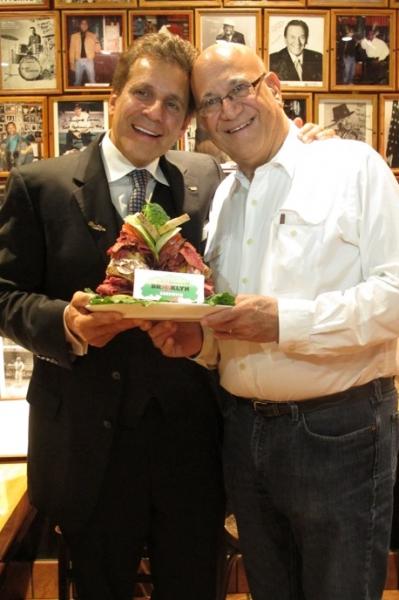 Jake Ehrenreich and Marty Markowitz Photo