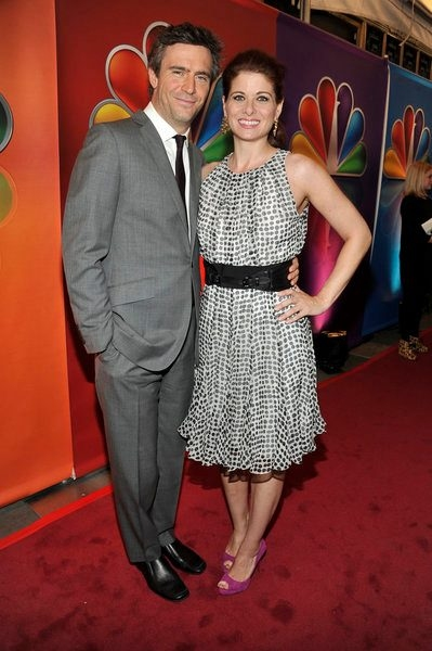 Jack Davenport, Debra Messing at Photo Flah: SMASH Cast Performs at NBC Upfronts!