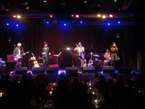Gerry Leonard, Suzanne Vega, Duncan Sheik and Ruby Froom at Ruby Froom Makes Highline Ballroom Debut at Suzanne Vega/Duncan Sheik