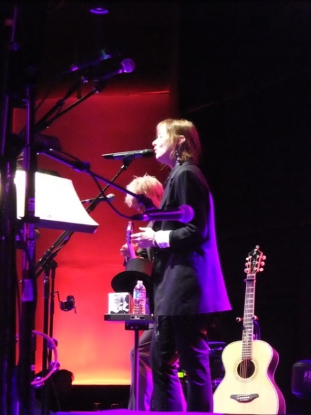 Suzanne Vega at Ruby Froom Makes Highline Ballroom Debut at Suzanne Vega/Duncan Sheik