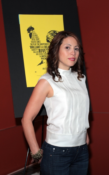 Elizabeth Rodriguez at Mike Bartlett's COCK Opens Off Broadway