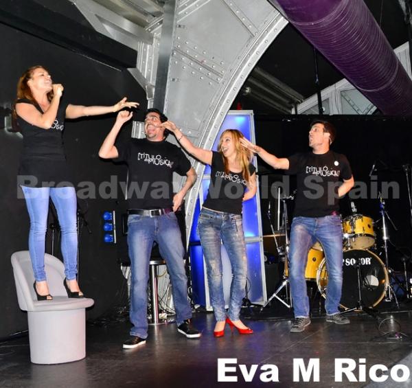 Mayte Gete, Angel Muniz, Mamen Marquez y Toni Blaya