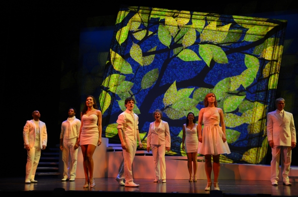 Justin Keyes, Destan Owens, Ciara Renee, James Penca, Pamela Myers, Marie-France Arcilla, Emily Walton and Brian Sutherland at First Look at SONDHEIM ON SONDHEIM at Great Lakes Theater