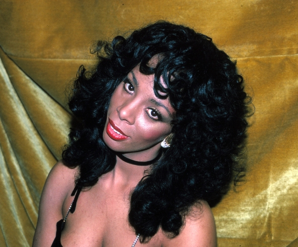 Donna Summer at the Savoy Theater in New York City. January 1983 at BroadwayWorld Remembers Donna Summer