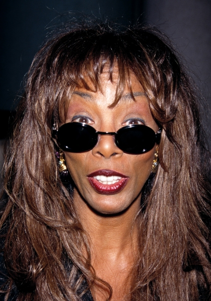 Donna Summer at the premiere of 'The Capeman' in New York City on January 30th 1998 at BroadwayWorld Remembers Donna Summer