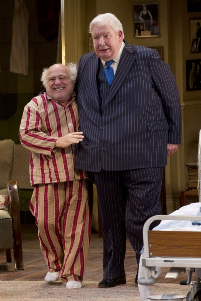 Danny DeVito and Richard Griffiths