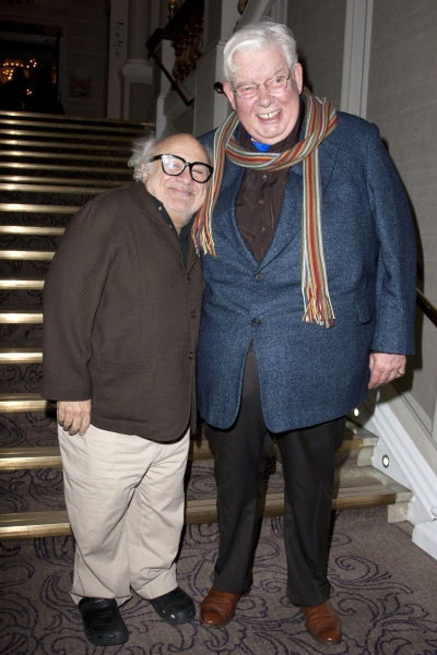 Danny DeVito and Richard Griffiths  Photo