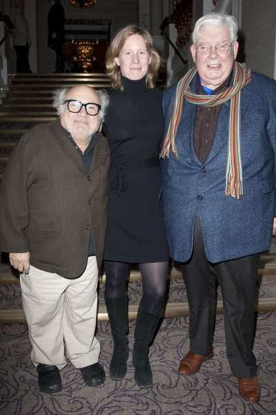 Danny DeVito, Thea Sharrock and Richard Griffiths  Photo