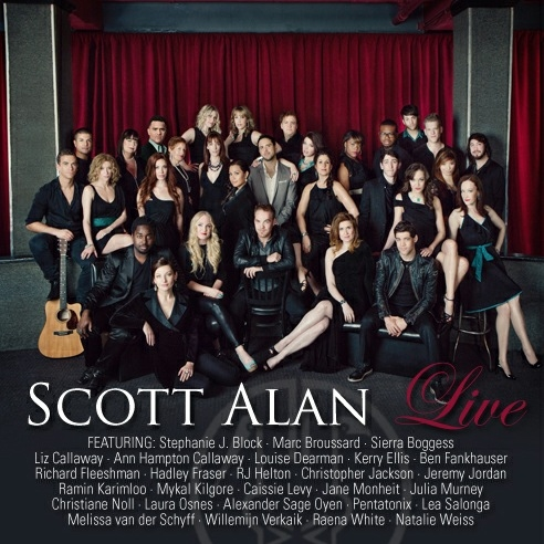 Scott Alan's LIVE, with Lea Salonga, Jeremy Jordan, Caissie Levy, Laura Osnes and More, Releases Today, 6/26