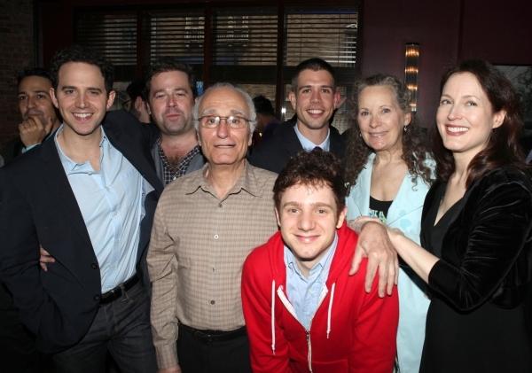 Santino Fontana, Director Peter DuBois, Yusef Bulos, Playwright Stephen Karam, Chris  Photo