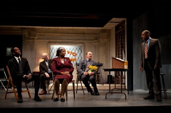 Photo Flash: Tonya Pinkins, Bob Dishy, et al. in Atlantic Theatre Company's STOREFRONT CHURCH