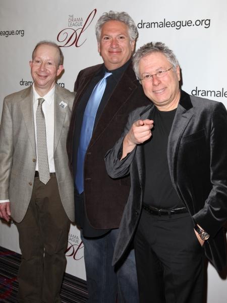 Jack Feldman, Harvey Fierstein & Alan Menken at The Drama League Awards 2012 - The Gentlemen