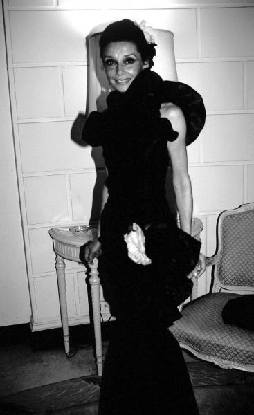 Audrey Hepburn in May of 1982 in New York City.  Photo