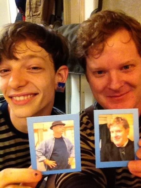 NEWSIES' Mike Faist and Mark Aldrich 