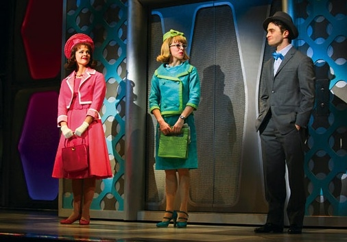 Daniel Radcliffe and the Cast of HOW TO SUCCEED at Photo Flashback: HOW TO SUCCEED Closes Today; A Look Back at the Three Finches