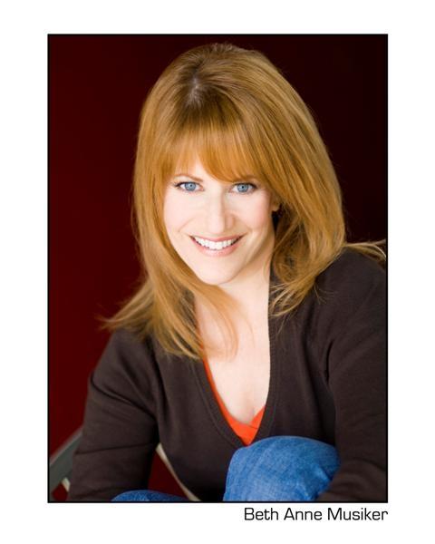 Hey, Jef, Here's My Headshot: BETH ANNE MUSIKER