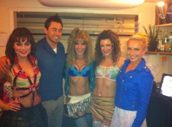ROCK OF AGES Neka Zang and Company at Evening Saturday Intermission Pic Round-Up - Ricky Martin, NEWSIES and More!