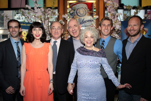 Marc Bruni, Audrey Lynn Weston, Todd Susman, Lenny Wolpe, Marilyn Sokol, Bill Army, Sam Hoffman at OLD JEWS TELLING JOKES Opens Off-Broadway